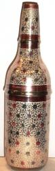 Футляр под бутылку. Эмаль. Роспись. h=32cм.