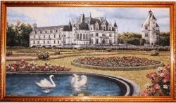"""Картина гобеленовая """"Замок Дианы"""". Размер 132х75."""