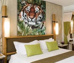 """Панно """"Тигр"""". Размер 120х170."""