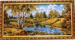 """Картина гобеленовая """"Природа"""". Размер 33х21. Россия."""