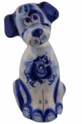 """Статуэтка """"Собака"""". Высота 16 см. Роспись ручная"""