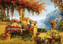"""картина гобеленовая """"Летняя прохлада"""". Размер 117х77. Россия."""