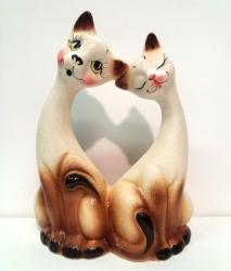 """Копилка """"Котики"""".Керамика."""