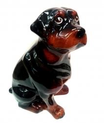 """Копилка """"Собака -Ротвейлер"""". Высота 35 см.."""