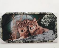"""Картина гобеленовая """"Волки"""""""