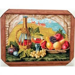"""Картина гобеленовая """"Натюрморт с фруктами"""""""